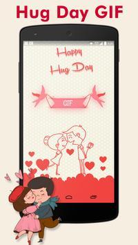 Hug Day GIF : Valentine Day GIF screenshot 1