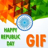 Latest GIF on Republic Day 2018 icon