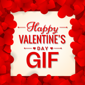 Valentine Day GIF 2018 icon