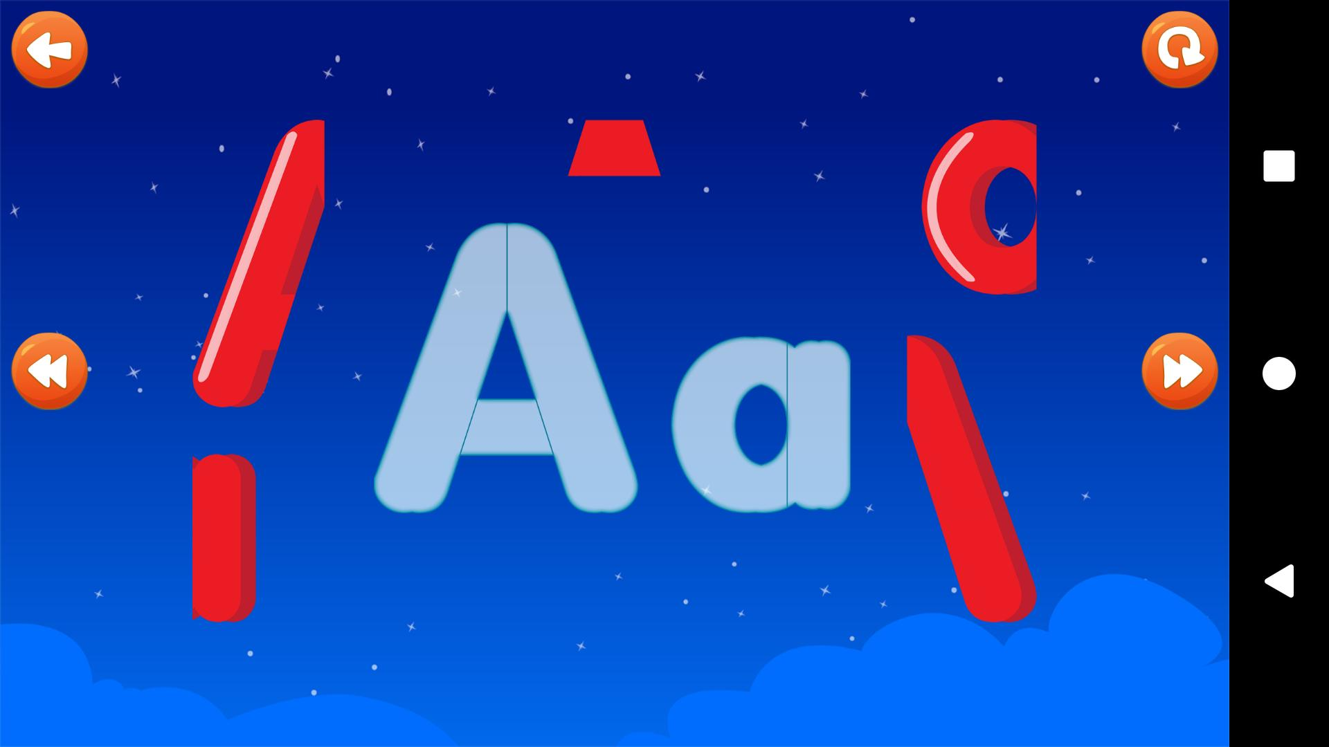Abc Letters Puzzle Educational Games For Kids For Android Apk Download