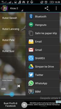 MASTER KICAU PERKUTUT GACOR apk screenshot