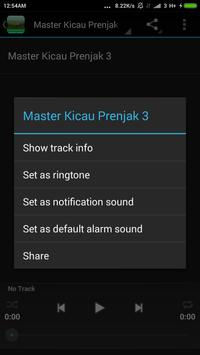 Master Kicau Prenjak Lengkap apk screenshot