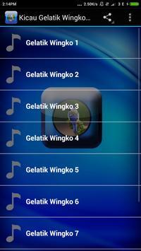 Kicau Gelatik Wingko Lengkap apk screenshot