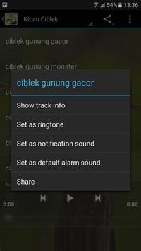 Kicau Master Ciblek Unggulan apk screenshot