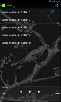 Juara Kicau Kolibri Masteran poster