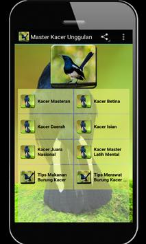 Master Kacer Unggulan poster