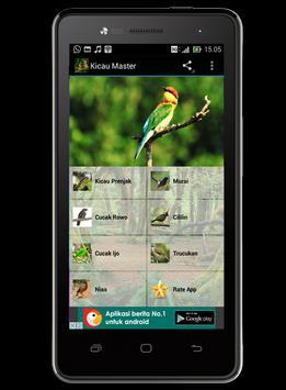 Kicau Master screenshot 1