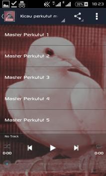 Master perkutut apk screenshot