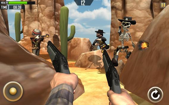 Wild West Cowboy Shooting Duel apk screenshot