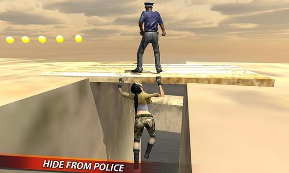 Catch Me Outside: Rooftop 3D apk screenshot
