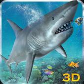 Angry Sea White Shark Revenge icon