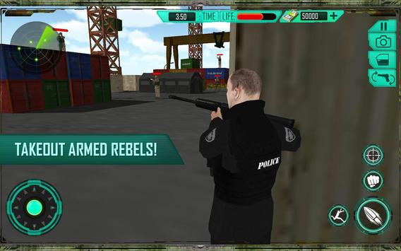 Police Officer Chase Car Snipe apk screenshot