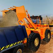 Dumper Truck Driver & Construction Crane Operator icon