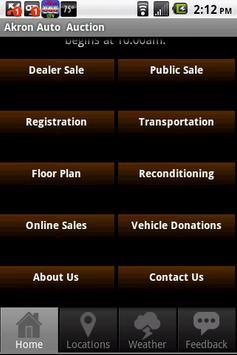 Akron Auto Auction screenshot 1