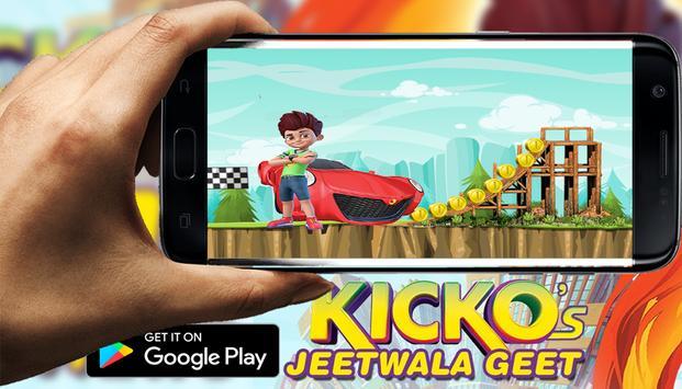 kicko racing speedo car poster