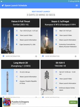 Space Launch Schedule apk screenshot