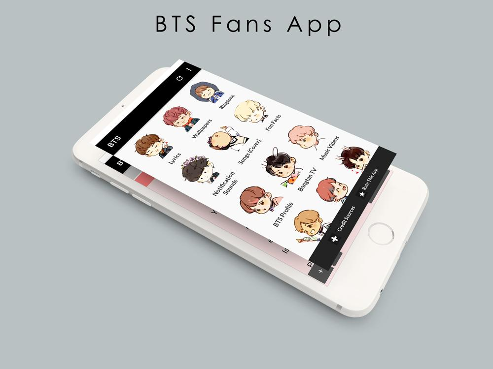 All BTS Lyrics Songs Ringtones Wallpapers for Android - APK