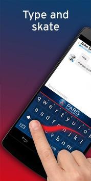 PSG Official Keyboard apk screenshot