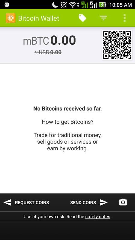 Bitcoin wallet para android apk baixar bitcoin wallet cartaz ccuart Gallery