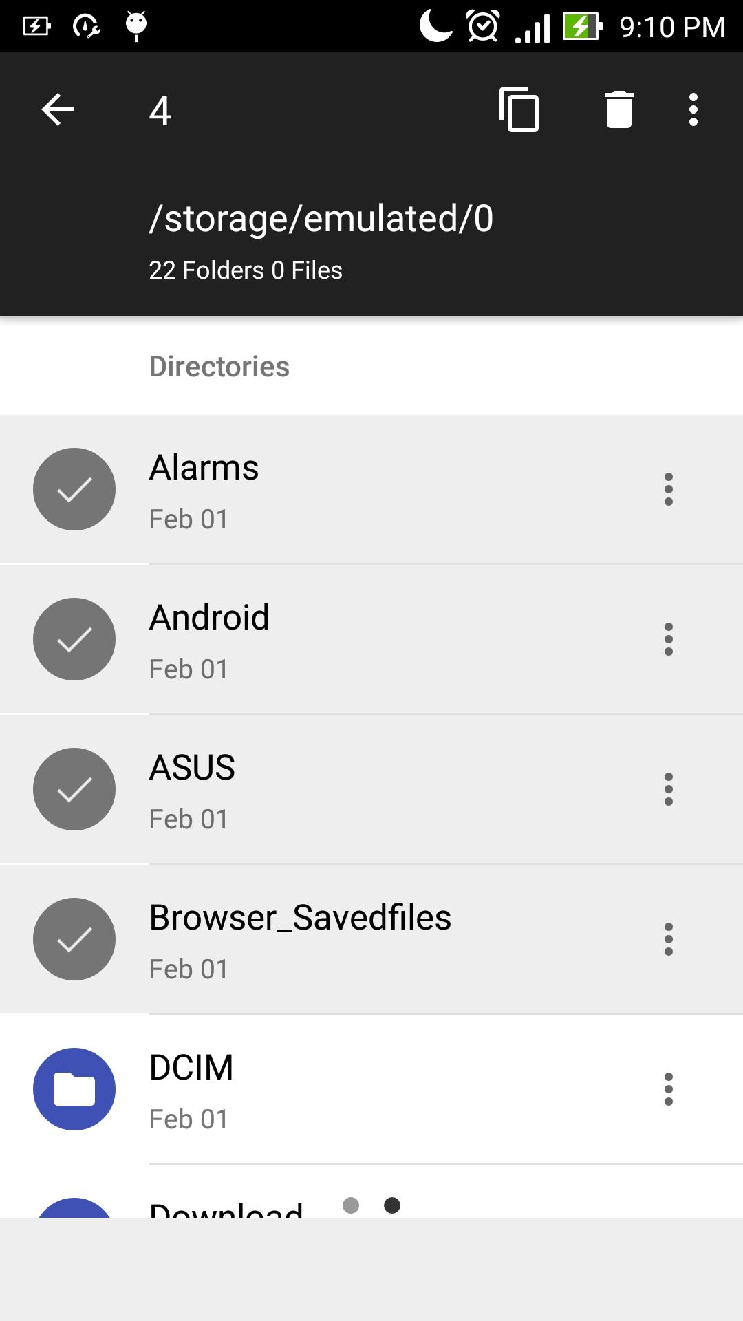 Blue File Manager for Android - APK Download