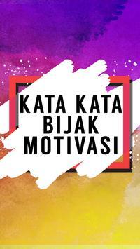 Kata Kata Bijak Motivasi poster