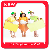 DIY Tropical and Pool Couples Costume icon