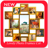 Lovely Photo Frames Collage icon