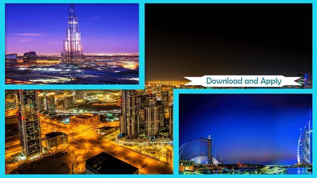Nights in Dubai Live Wallpaper poster