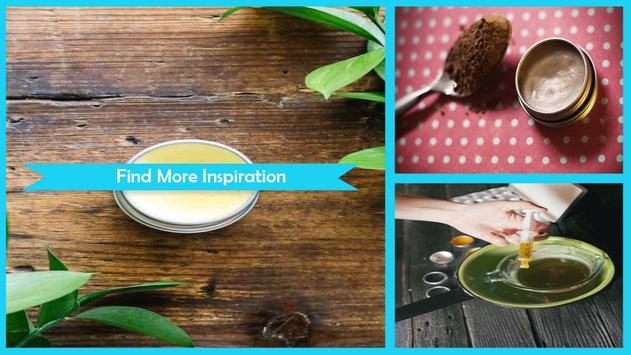 Simple DIY Green Tea Lip Balm poster