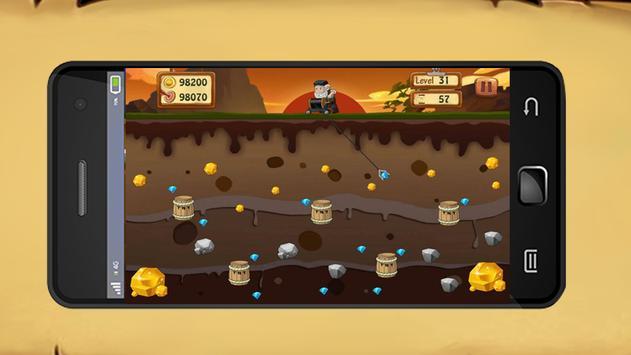 Gold Miner HD 2017 screenshot 4