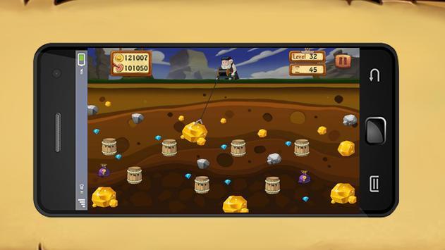 Gold Miner HD 2017 screenshot 2