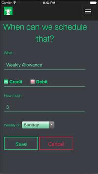 DivvyKid Allowance apk screenshot