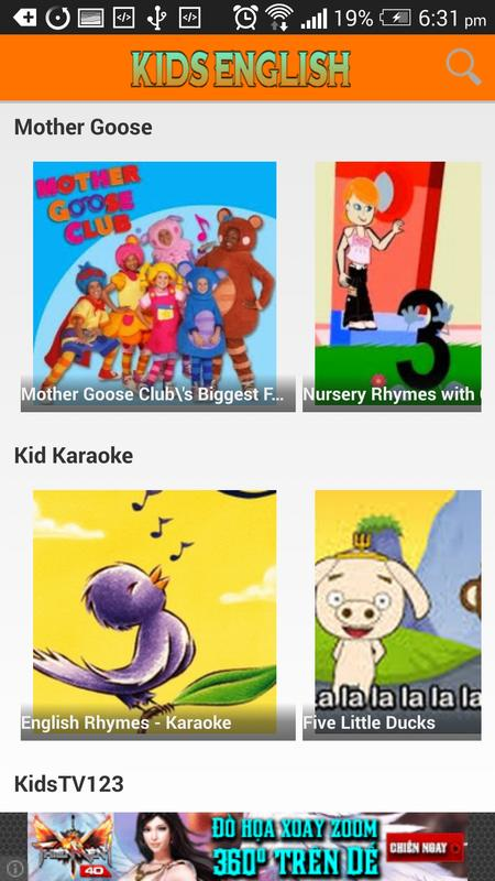 Kid English Nursery Rhymes Poster