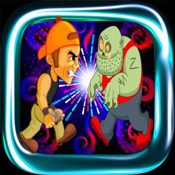 Kid dash VS Zombie TSU poster