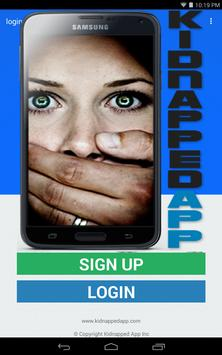Kidnapped App screenshot 1