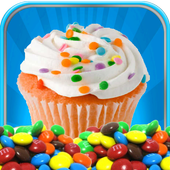 Frozen Cup Cake Maker icon