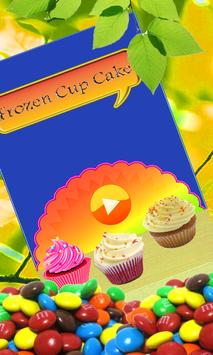 Frozen Cup Cake Maker poster