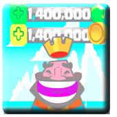 FREE Gems Clash Royale-SIMULATOR 💎 icon