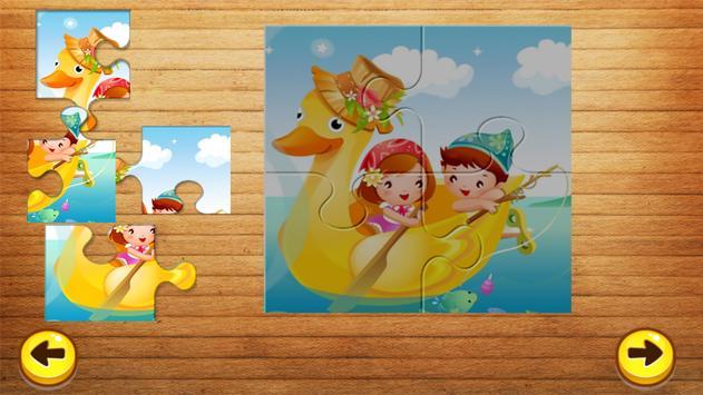 Cartoon Jigsaw Puzzle For Kids screenshot 2