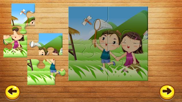Cartoon Jigsaw Puzzle For Kids screenshot 3