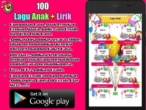 100 Lagu Anak Indonesia poster