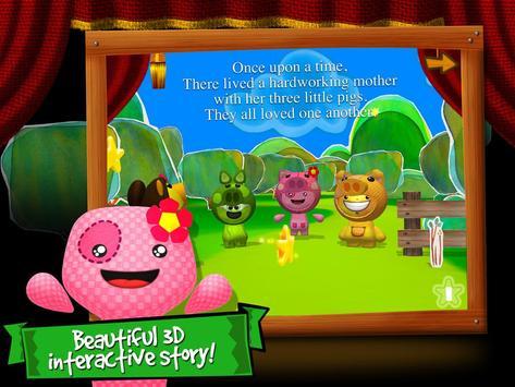 Three Little Pigs 3D by BBK® poster