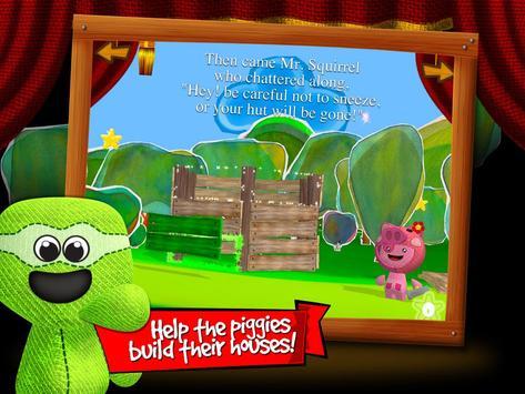 Three Little Pigs 3D by BBK® screenshot 1
