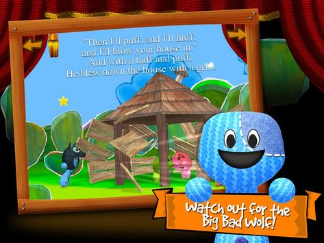 Three Little Pigs 3D by BBK® screenshot 2