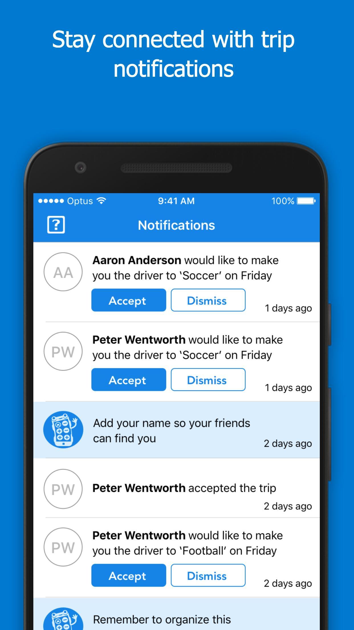 KiD CarPool - carpool app for Android - APK Download