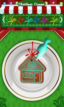 Cute Cookie Maker-Frozen Christmas Party-Kids Game screenshot 3