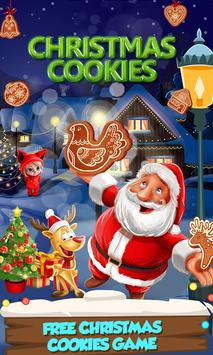 Cute Cookie Maker-Frozen Christmas Party-Kids Game poster