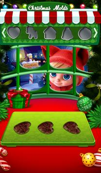 Cute Cookie Maker-Frozen Christmas Party-Kids Game screenshot 9