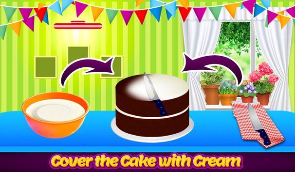 Tasty Black Forest Cake-Cook, Bake & Make Cakes apk screenshot