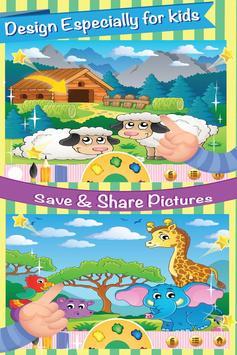 Farm Animal Villege Color Book screenshot 1